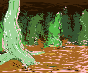 A undersea forest