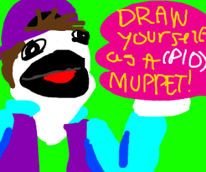 Draw Yourself as a Muppet PIO