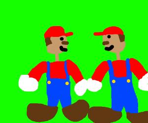 Mario has a twin