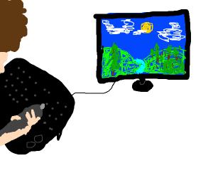 Bob Ross discovers digital art