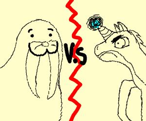 Walrus vs Pegasus/Unicorn