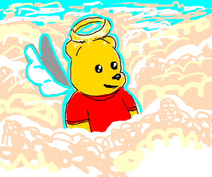 Winnie the Pooh in Heaven