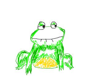 blushing frog