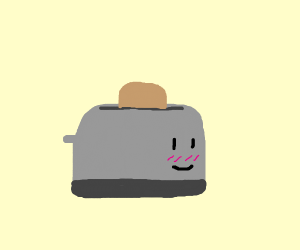 Kawaii toaster
