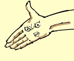 Angry Hand