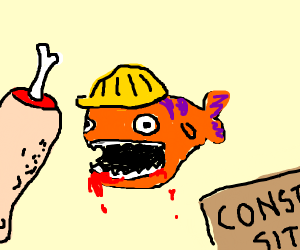 Piranha Construction Worker