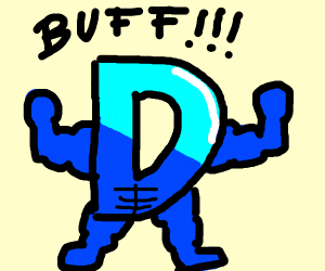 Buff Drawception D