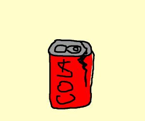 crack in cola