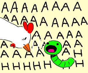 chicken scREAMWORM