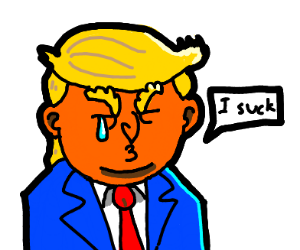 Trump is deeply disappointed in himself