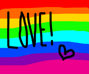 gay pride magazine cover