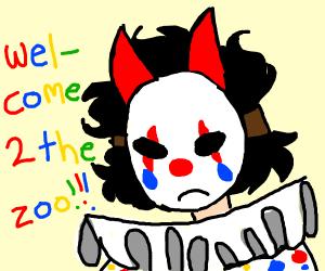 demon-clown zoo