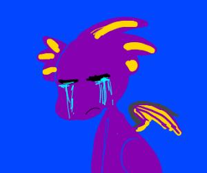 sad dragon :(