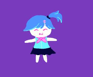 Chibi schoolgirl