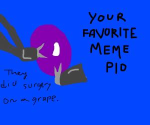 Your favorite meme (pio)