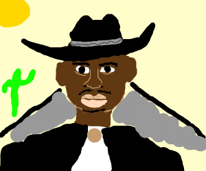 A really cool jazzy cowboy