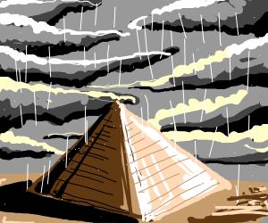 Bill cypher walking in the rain