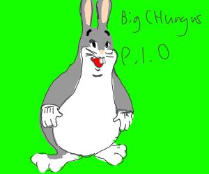 Big Chungus Pass It On Drawception