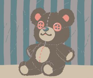 Teddy bear hates demons