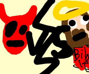 devil vs God