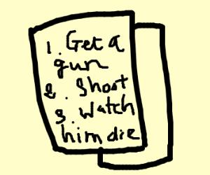 murder plans