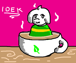 Goat in a Teacup