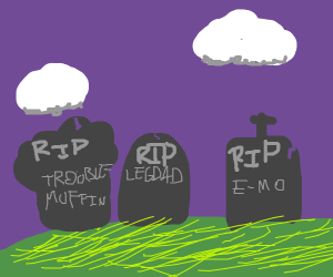 drawception meme graveyard