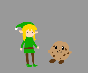 Link and Cookie Kirby