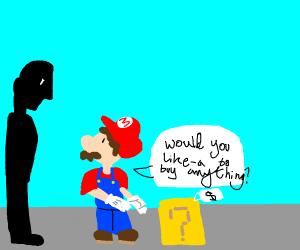 Mario followed his life long dream of selling