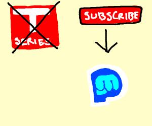 Stop TSeries and Sub 2 PewDiePie