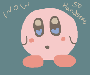 kirby is handsome