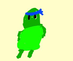 the blue ninja turtle