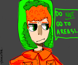 Character Warns You Not To Go To Area 51