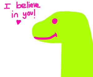 Dinosaur as a Motivational speaker