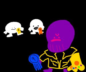 Thanos got 9th place
