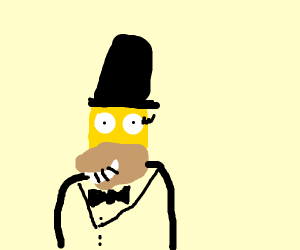 Homer Arbuckle... (Yep some kind of fusion)
