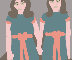 the Grady twins/sisters from The Shining