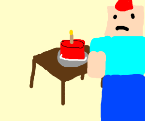 Lonely Minecraft Birthday