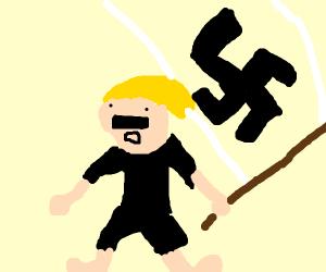 Blonde nazi guy