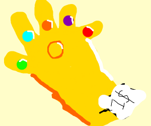 The Ifinity Gauntlet is on sale