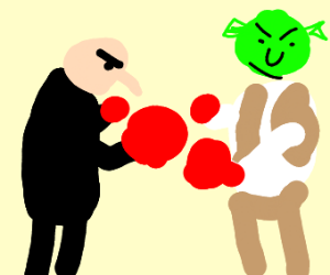 Gru Vs Shrek Boxing