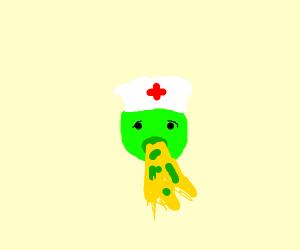 Sick nurse