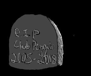 club penguin's grave
