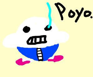 Kirby is sans undertale