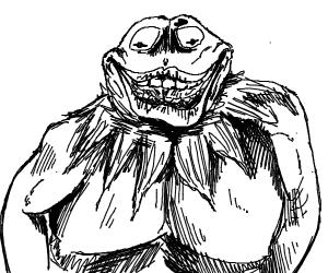 Buff Creepy Kermit