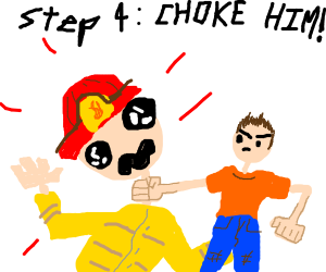 step 3: get rescued by Firemen... Like a cat.