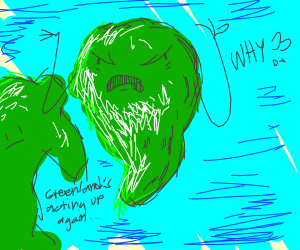 angry Greenland map