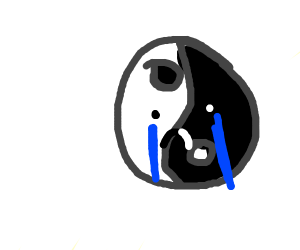 Sad ying and yang