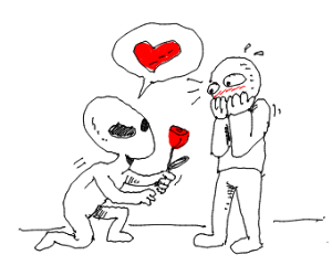 Alien has a crush on you