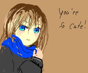 ooo you cute - Drawception